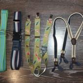 Фирменные ремни, подтяжки для мальчика 2-4 года