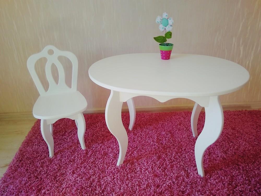 детский столик и стульчик фото №1