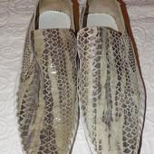 Классные туфли, натуральная кожа, стелька 30,5см.