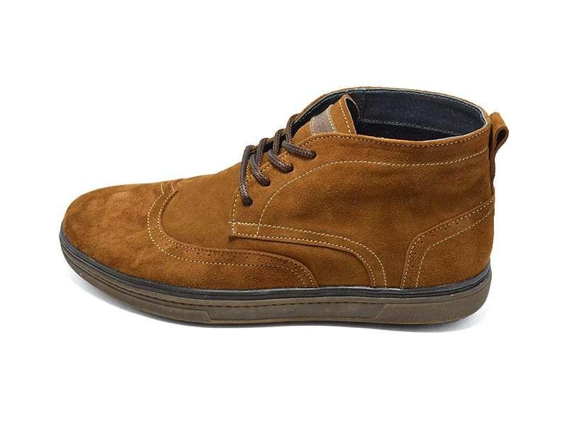 Распродажа!!! Ботинки мужские замшевые демисезонные на байке Multi-Shoes фото №1