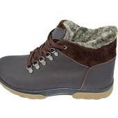 Ботинки зимние на меху подростковые Eggo Montagna