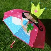 Детский 3D зонтик Принцесса, много расцветок в наличии