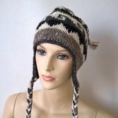 женская шапка шерсть этностиль