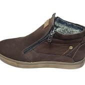 Ботинки мужские кожа зимние на меху Multi Shoes Top