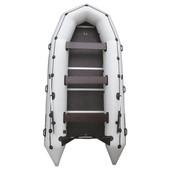 Лодка надувная моторная kolibri km-400DSL и фанерный пайол со стрингерами
