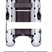 Лодка надувная моторная Kolibri КМ-450dsl цветная или комбинированная и фанерный пайол со стрингерам