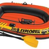 Лодка надувная гребная Intex 58357 Explorer Pro 200 Set