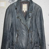 Куртка кожаная косуха Esprit