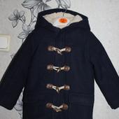 Теплое пальто с капюшоном Matalan