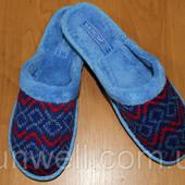 Женские домашние тапочки Белста с закрытым носком Махра р-р 36-40