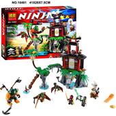 Конструктор Bela Ninja 10461 Тигровый остров вдов 448 дет