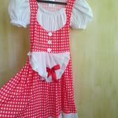 Платье карнавальное  5- 7 лет, рост 110- 122 см