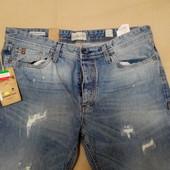 Продам новые итальянские мужские джинсы Jack & Jones, размер 36/34