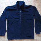 Синяя мужская флиска 50