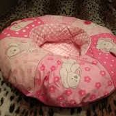 Развивающий коврик, надувное уютное гнездышко для малышей Mothercare
