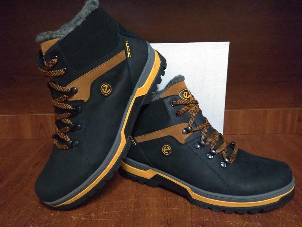 Ecco biom мужские зимние кожаные ботинки, цена 1050 грн - купить ... b856df65653