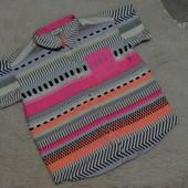 Яркая, легкая рубашечка River Island на девочку 9 лет