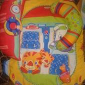 """Развивающий коврик для малышей """"Машина"""" + 5 игрушек от 0м"""