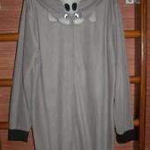 Пижама флисовая, размер М, рост до 185 см