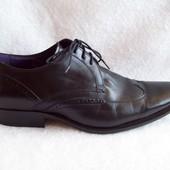 Туфли Кожа Италия, б/у 1 раз, размер 42.