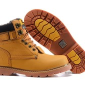 Ботинки Caterpillar Second Shift Boots Yellow, на меху, р. 41-44, код fr-5424