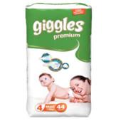 Подгузники для детей Giggles Premium Maxi 7 до 18 кг 44 шт