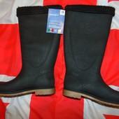 Фирменние стильние новие утепленние резиновие сапоги чоботи Esmara Италия .37.
