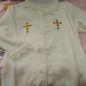 Детская крестильная рубашка в ассортименте