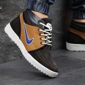 Зимние мужские кроссовки  3402 Nike