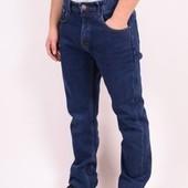зимние мужские джинсы на флисе 31.32.33.34.36.38р