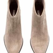 Ботиночки H&M, натуральная замша, премиум коллекция