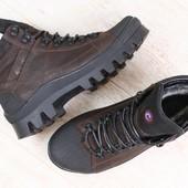 Ботинки зима натуральная кожа В92829