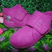 Тапочки войлочные Impidimpi 26р,ст 16,5см.Мега выбор обуви и одежды
