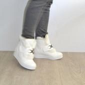 Ботинки с опушкой Т148