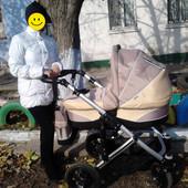 Коляска детская iZacco Z5 , 2 в 1 + летняя коляска- трость в подарок!