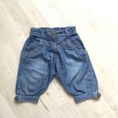 Капри шорты джинсы 2-4 года