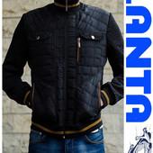 Мужские весенние стеганные куртки ( Код: 239)