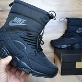 Зимние женские сапоги Nike Huarache