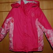 Зимняя термо куртка 5-6 лет Arctiс River на флисе новое состояние