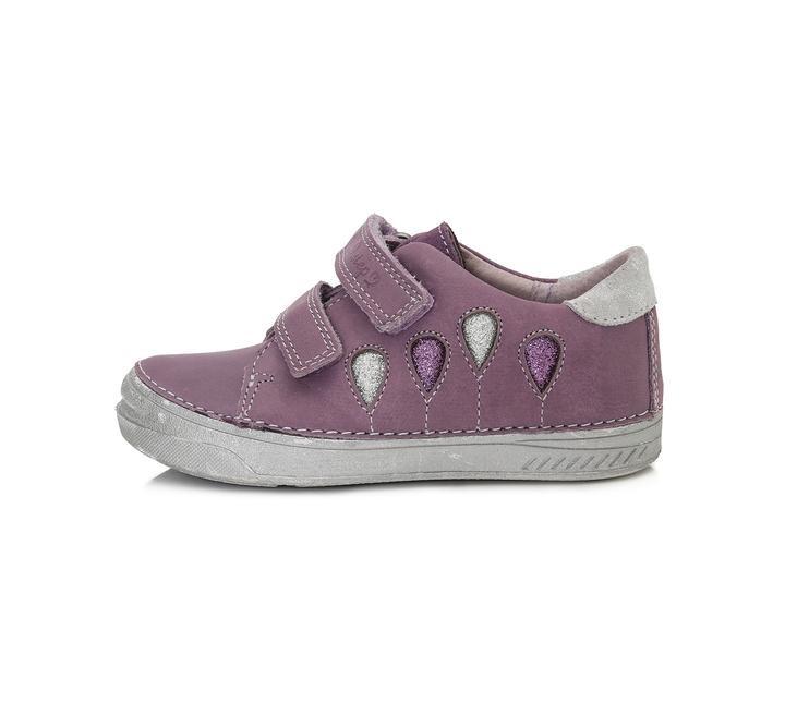 Кожаные туфли d.d.step для девочки новинка 2019 г фото №1