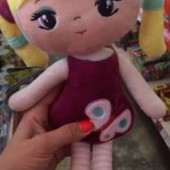 Мягкая кукла ліна, м'яка лялька лина тм левеня мягкая кукла