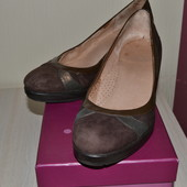 Замшевые туфли Монарх 36-37 размер