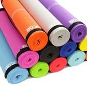 Мат для йоги EVA 6-цветов 173см.
