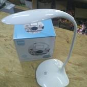Настольная LED лампа с аккумулятором и сенсорной регулировкой яркости Belong df-002