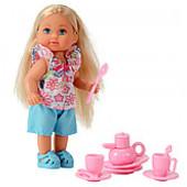Кукла Эви мини-набор для чаепития от Simba Ева Штеффи посудка для кукол