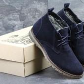 Ботинки зимние Vankristi dark blue