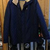 Новая мужская курточка XXL (54) размер тёплая куртка!