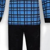 Пижама мужская с начесом. Теплая мужская пижама.
