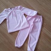Новая!Теплая пижама на 3-5лет, можно для двойни