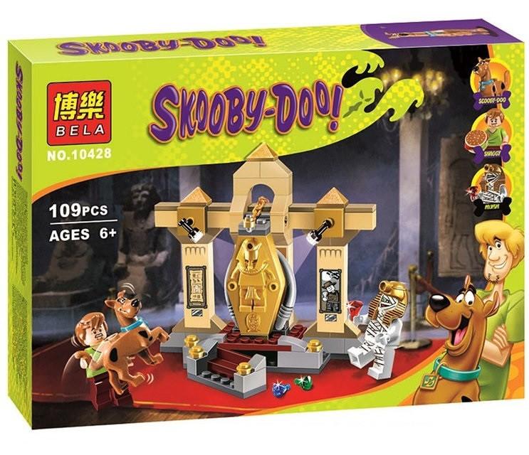 Конструктор bela серия скуби-ду 10428 тайна музея мумий (аналог lego scooby-doo 75900) фото №1